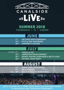 canalside live 2018