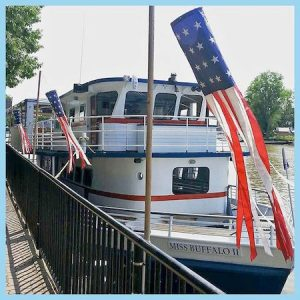 Buffalo Harbor Cruise:Miss Buffalo II