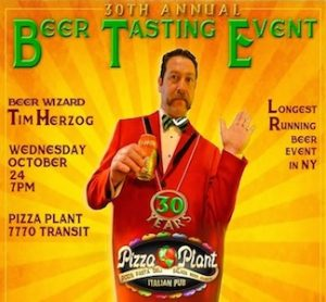 Beer Tasting Event at Pizza Plant