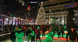 Downtown Christmas Tree Lighting, Buffalo, NY