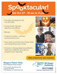 Spooktacular at Niagara Power Vista