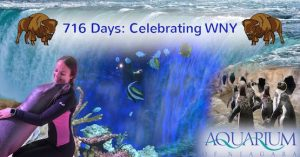716 Days at the Aquarium of Niagara, Niagara Falls, NY, Welcome 716