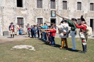 Old Fort Niagara's Patriots Day Weekend