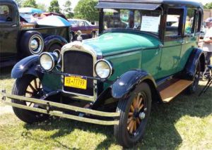 Car Show at Collins Historical Society