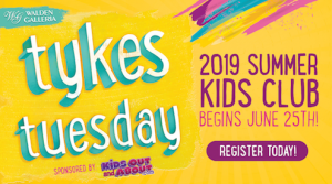 Tykes Tuesday @ Walden Galleria