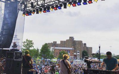 Summer at Buffalo Waterfront
