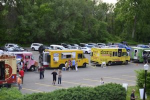 Food Truck Wednesdays in the Garden