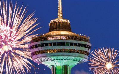 Visiting Niagara Falls? Don't miss Skylon Tower