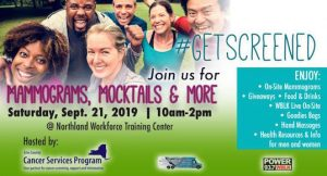Erie County's #GetScreened event
