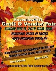 Novemberfest Craft & Vendor Fair