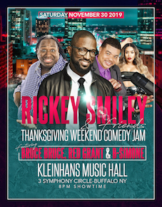 Rickey Smiley & Friends, Kleinhans Music Hall