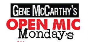 Gene McCarthy's Open Mic Mondays, Buffalo, NY events