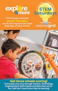 STEM Saturdays at Explore & More Museum, National Grid