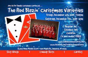 The Red Blazin' Christmas Varieties
