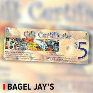 gift card to bagel jay's Bagel Jays deals in buffalo