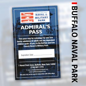 miltary park admiral's pass deals in buffalo Buffalo Naval Park