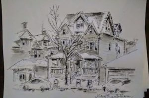 Sketches of Buffalo, Mary Kunz Goldman