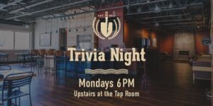 Trivia Night at the Tap Room, Big Ditch Brewing Company