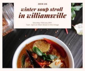 Winter Soup Stroll in Williamsville