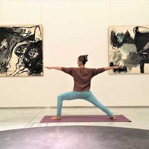 Yoga at the CAM, Castellani Art Museum of Niagara University