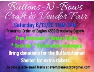 Buttons-N-Bows Craft & Vendor Fair, Welcome 716