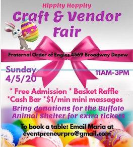 Hippity Hoppity Craft & Vendor Fair, Welcome 716
