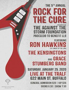 Rock for the Cure, Leukemia & Lymphoma Benefit