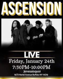 Ascension Live at JeNeSaisQuoi, Buffalo, NY event