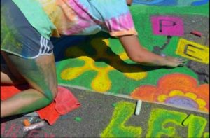 Chalk Walk Competition, Lewiston, NY