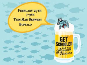 Get Schooled! Adult Trivia Night, Aquarium of Niagara, Thin Man Brewery, Welcome 716