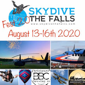 Skydive the Falls Fest, Youngstown, NY, Welcome 716