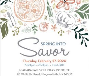 Spring Into Savor, Restaurant in Niagara Falls, NY, Welcome 716