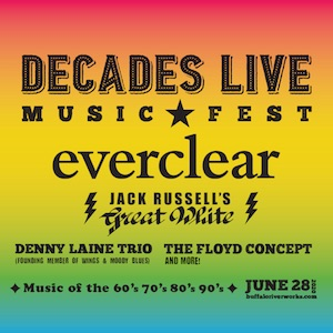 Decades Live Music Festival, Welcome 716, Buffalo RiverWorks