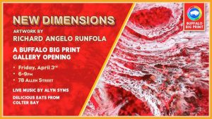 New Dimensions at Buffalo Big Print, Welcome 716