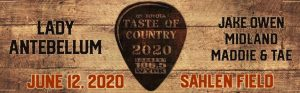 Taste of Country Concert, Buffalo, NY, Welcome 716