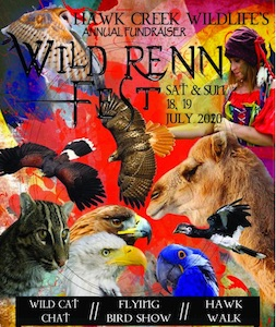 Wild Renn Fest, Hawk Creek Wildlife Center, Welcome 716