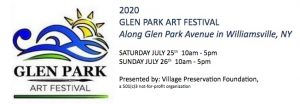 Glen Park Art Festival, Williamsville, NY, Welcome 716