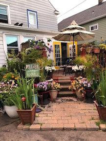 Samuel P. Capen Garden Walk, Buffalo, NY, Welcome 716