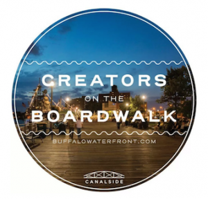 Creators on the Boardwalk, Canalside Buffalo