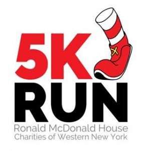 Virtual 5k Run Fundraiser, Ronald McDonald House, Welcome 716