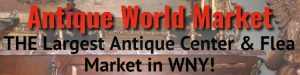Flea Market at Antique World, Clarence, NY, Welcome 716