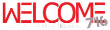 Welcome 716 logo