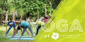 Yoga at Spring Lake Winery, Fitness Class, Welcome 716