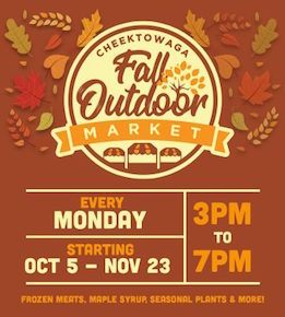 Cheektowaga Fall Outdoor Market, Walden Galleria, Welcome 716