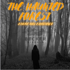 Haunted Forest Drive-thru, Becker Farms, Welcome 716