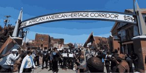 Michigan Street Historic Corridor Tour, African American Heritage Corridor, Welcome 716