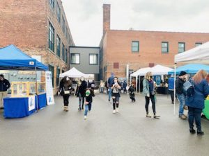 Chandler Street Winter Market, Buffalo, NY, Welcome 716