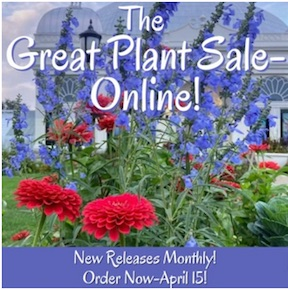 The Great Plant Sale Online, Buffalo and Erie County Botanical Gardens, Welcome 716