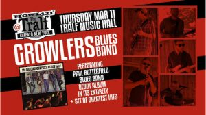 Growlers Blues Band at the Tralf, Buffalo, NY, Welcome 716