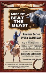 Beat the Beast Rodeo 2021, Alden, NY, Welcome 716